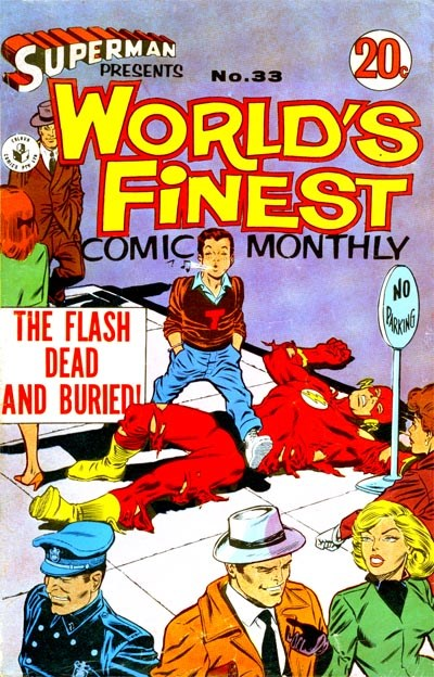 Superman Presents World's Finest Comic Monthly (Colour Comics, 1965 series) #33 ([January 1968])
