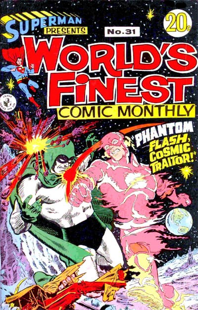 Superman Presents World's Finest Comic Monthly (Colour Comics, 1965 series) #31 ([November 1967?])