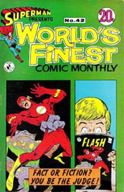 Superman Presents World's Finest Comic Monthly (Colour Comics, 1965 series) #42 ([October 1968?])