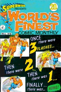 Superman Presents World's Finest Comic Monthly (Colour Comics, 1965 series) #36 ([April 1968?])