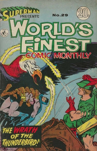 Superman Presents World's Finest Comic Monthly (Colour Comics, 1965 series) #29 ([September 1967])