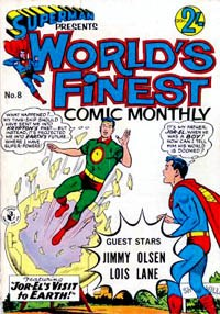 Superman Presents World's Finest Comic Monthly (Colour Comics, 1965 series) #8 ([December 1965?])