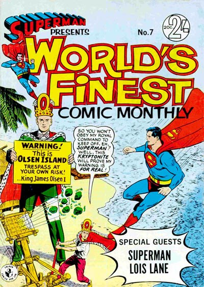 Superman Presents World's Finest Comic Monthly (Colour Comics, 1965 series) #7 ([November 1965?])