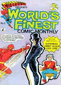 Superman Presents World's Finest Comic Monthly (Colour Comics, 1965 series) #5 ([September 1965?])