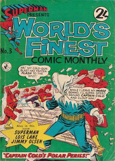 Superman Presents World's Finest Comic Monthly (Colour Comics, 1965 series) #3 ([July 1965?])