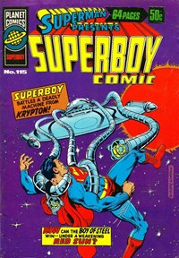 Superman Presents Superboy Comic (Murray, 1976 series) #115 — No title recorded