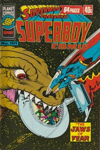 Superman Presents Superboy Comic (Murray, 1976 series) #101 — The Jaws of Fear