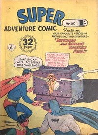 Super Adventure Comic (Colour Comics, 1950 series) #87 — Superman and Batman's Greatest Foes!