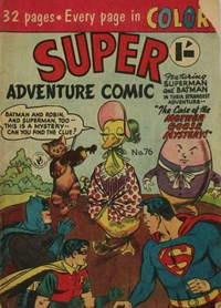 Super Adventure Comic (Colour Comics, 1950 series) #76