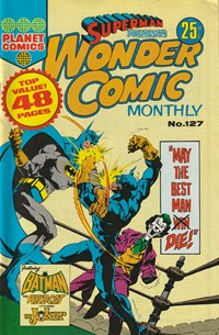 Superman Presents Wonder Comic Monthly (KG Murray, 1973 series) #127 — No title recorded