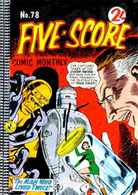 Five-Score Comic Monthly (Colour Comics, 1961 series) #78 — No title recorded
