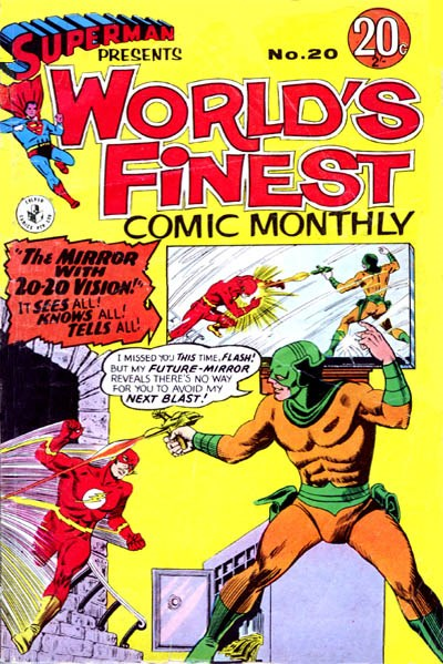 Superman Presents World's Finest Comic Monthly (Colour Comics, 1965 series) #20 ([December 1966?])