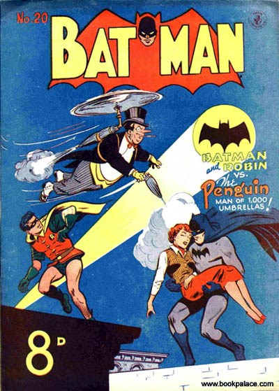 Batman (Colour Comics, 1950 series) #20 ([January 1952?])