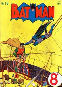 Batman (Colour Comics, 1950 series) #16 — Untitled (Cover)