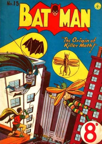 Batman (Colour Comics, 1950 series) #15 ([August 1951?])