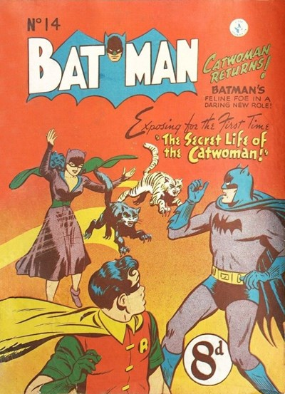 Batman (Colour Comics, 1950 series) #14 ([July 1951?])