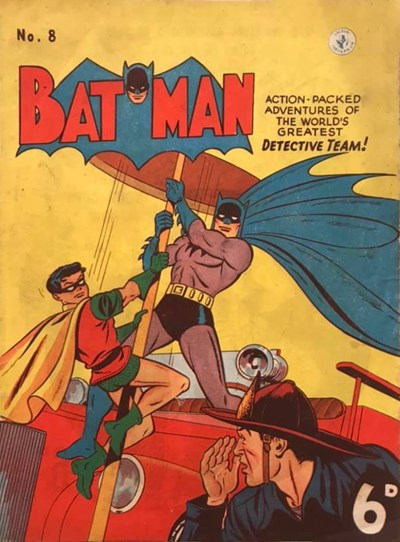 Batman (Colour Comics, 1950 series) #8 ([January 1951?])