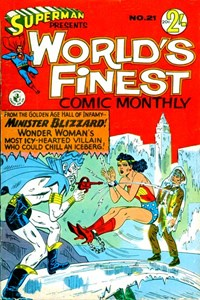 Superman Presents World's Finest Comic Monthly (Colour Comics, 1965 series) #21 ([January 1967?])