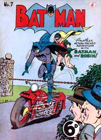 Batman (Colour Comics, 1950 series) #7 — No title recorded