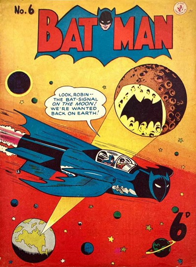 Batman (Colour Comics, 1950 series) #6 ([November 1950?])