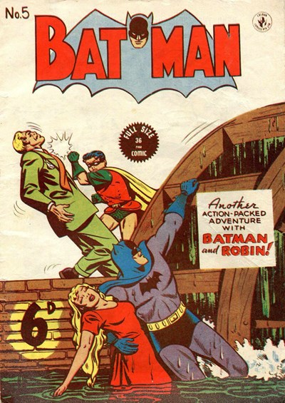 Batman (Colour Comics, 1950 series) #5 ([October 1950?])