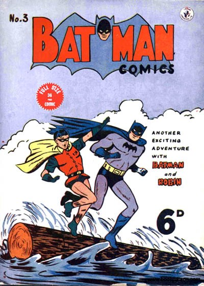 Batman Comics (Color Comics, 1950 series) #3 ([August 1950?])
