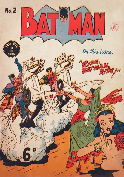 Batman Comics (Color Comics, 1950 series) #2 ([July 1950?])