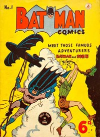 Batman Comics (Color Comics, 1950 series) #1 — Untitled