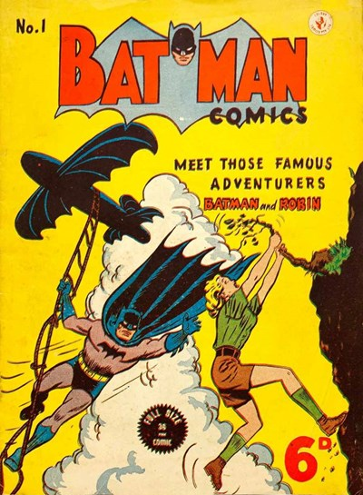 Batman Comics (Color Comics, 1950 series) #1 ([June 1950?])