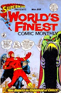 Superman Presents World's Finest Comic Monthly (Colour Comics, 1965 series) #22 ([February 1967?])