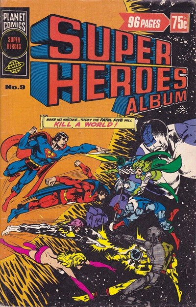 Super Heroes Album (Murray, 1977 series) #9 ([March 1978?])