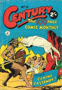 Century the 100 Page Comic Monthly (Colour Comics, 1956 series) #11 ([April 1957?])