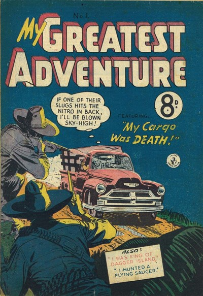 My Greatest Adventure (Colour Comics, 1955 series) #1 ([April 1955?])