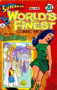 Superman Presents World's Finest Comic Monthly (Colour Comics, 1965 series) #46 ([February 1969?])