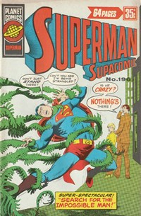 Superman Supacomic (KG Murray, 1974 series) #196