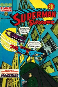 Superman Supacomic (KG Murray, 1974 series) #184