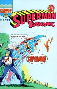 Superman Supacomic (KG Murray, 1974 series) #180
