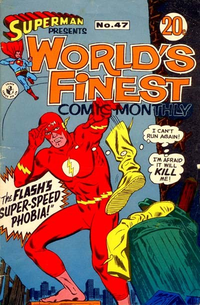Superman Presents World's Finest Comic Monthly (Colour Comics, 1965 series) #47 ([March 1969?])
