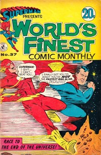 Superman Presents World's Finest Comic Monthly (Colour Comics, 1965 series) #37 (May 1968)