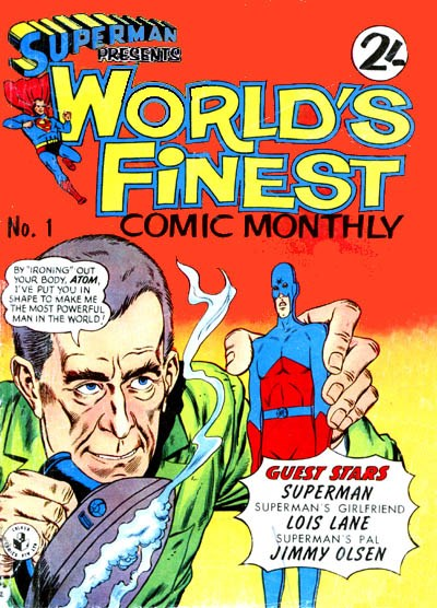 Superman Presents World's Finest Comic Monthly (Colour Comics, 1965 series) #1 ([May 1965?])