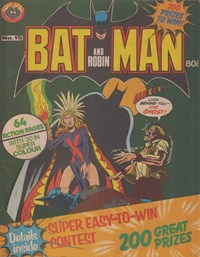 Batman and Robin (Murray, 1978 series) #15 — No title recorded
