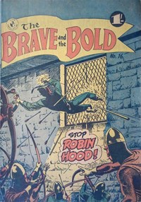 The Brave and the Bold (Colour Comics, 1956 series) #16 ([May 1957?])