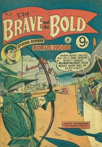 The Brave and the Bold (Colour Comics, 1956 series) #5 ([June 1956])
