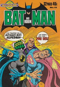 Batman and Robin (Murray, 1978 series) #12 ([September 1978?])