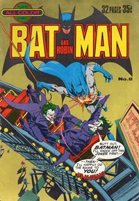 Batman and Robin (KG Murray, 1976 series) #8