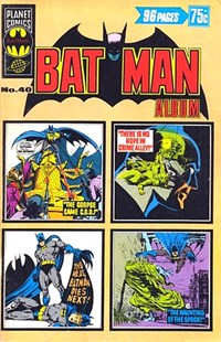 Batman Album (Murray, 1978 series) #40 — No title recorded