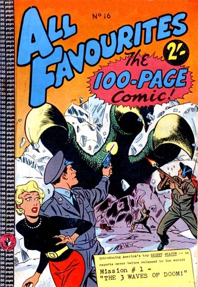 All Favourites, The 100-Page Comic (Colour Comics, 1958 series) #16 ([December 1959?])