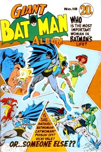 Giant Batman Album (Colour Comics, 1962 series) #18 ([May 1969?])