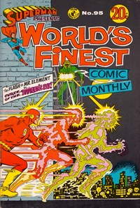 Superman Presents World's Finest Comic Monthly (Colour Comics, 1965 series) #95 — Curse of the Dragon's Eye!