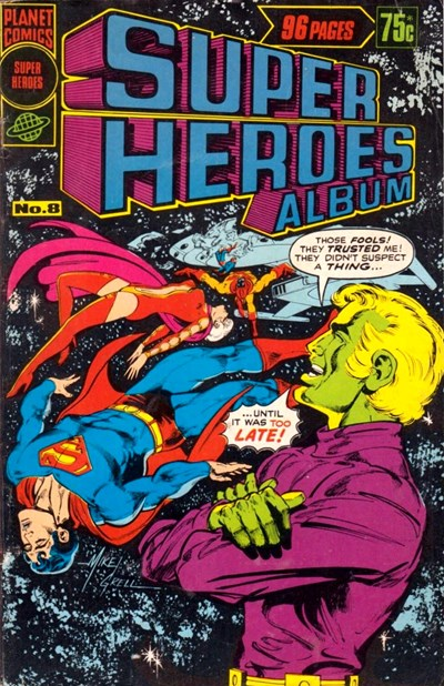 Super Heroes Album (Murray, 1977 series) #8 ([December 1977])
